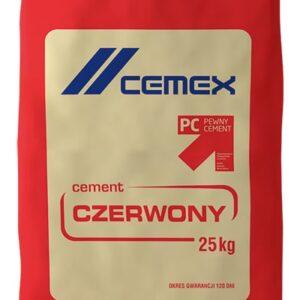 Cement czerwony Cemex
