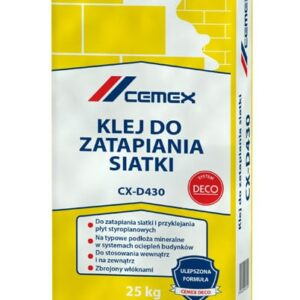KLEJ DO ZATAPIANIA SIATKI CX-D430