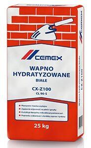 Wapno hydratyzowane białe Cemex