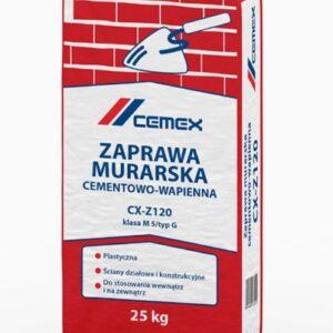 Zaprawa murarska cementowo-wapienna CX-Z120
